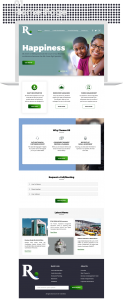 Right Pension website design by DientWeb home page design 01