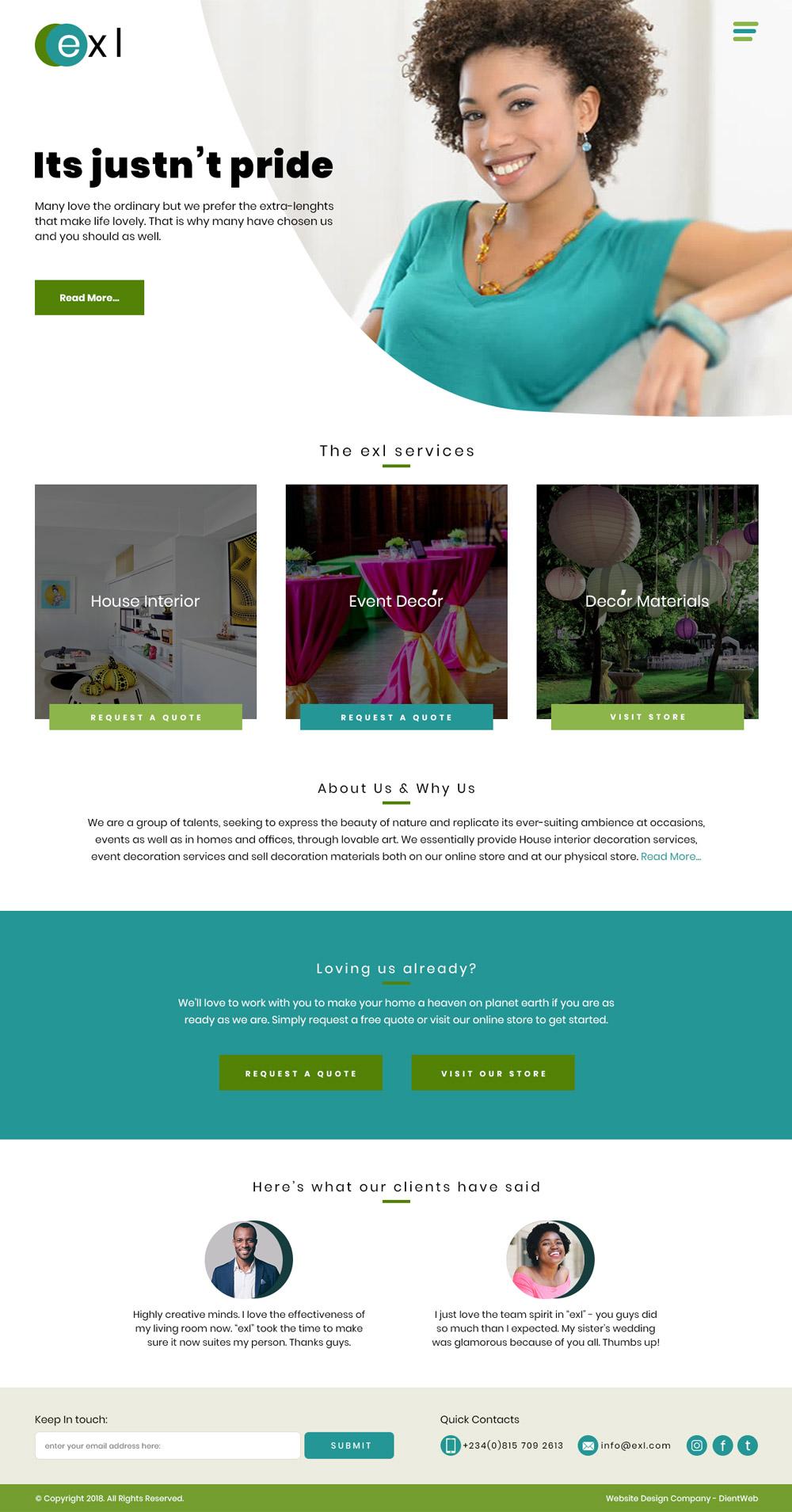 website designer in lagos nigeria
