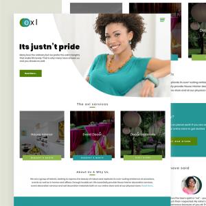 exl website design view2 by DientWeb