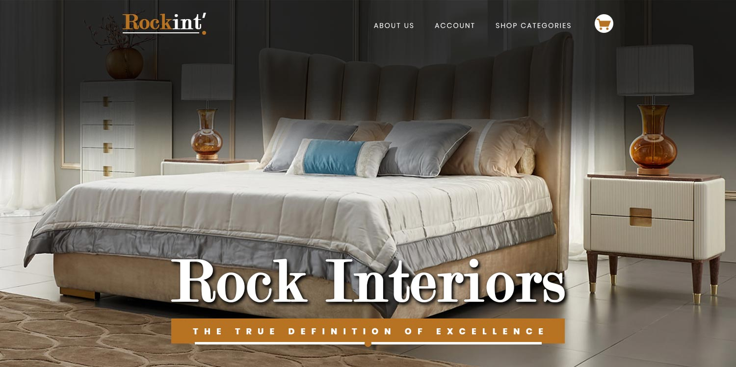 rock interior ecommerce website design banner1