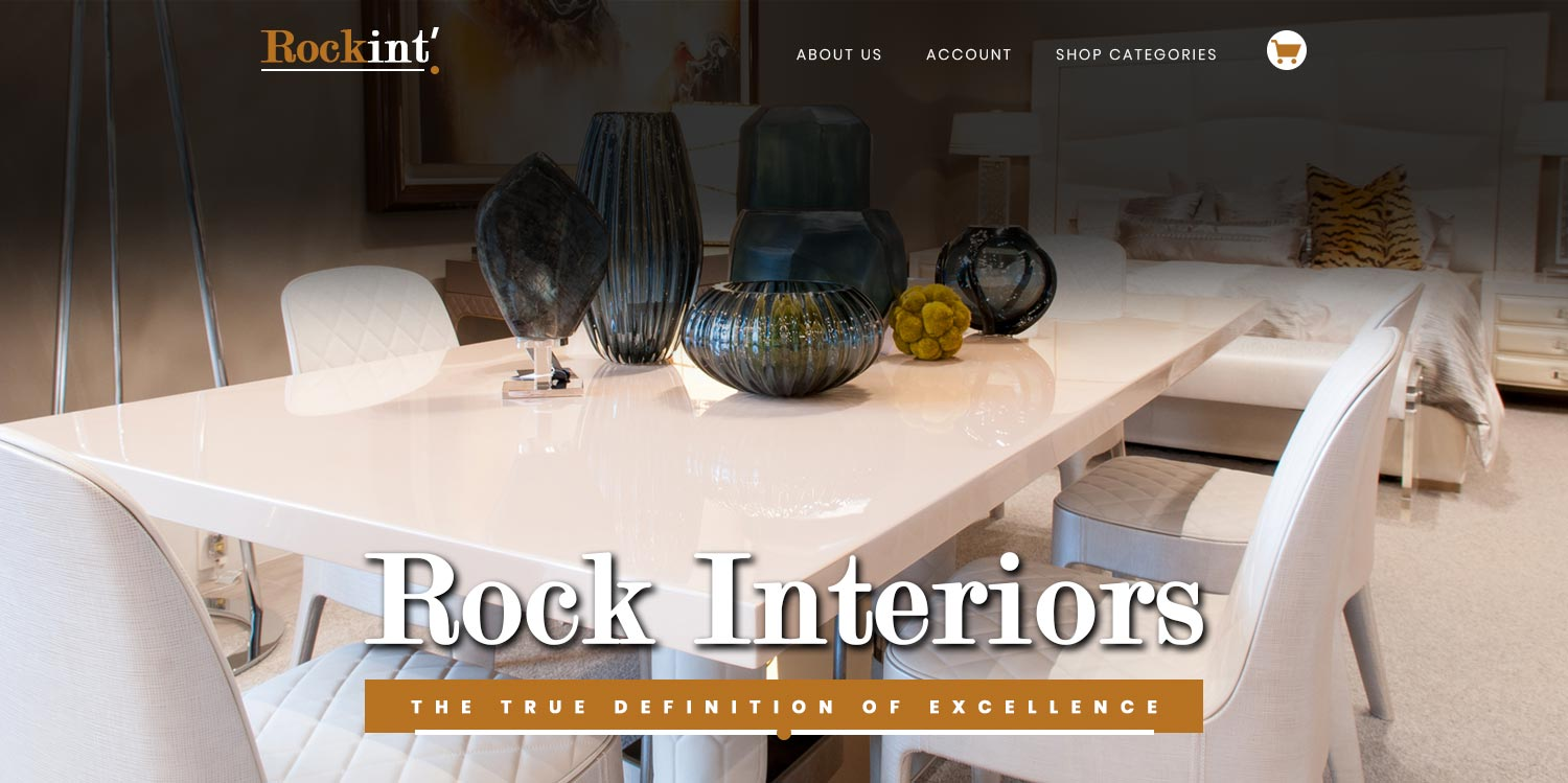 rock interior ecommerce website design banner2