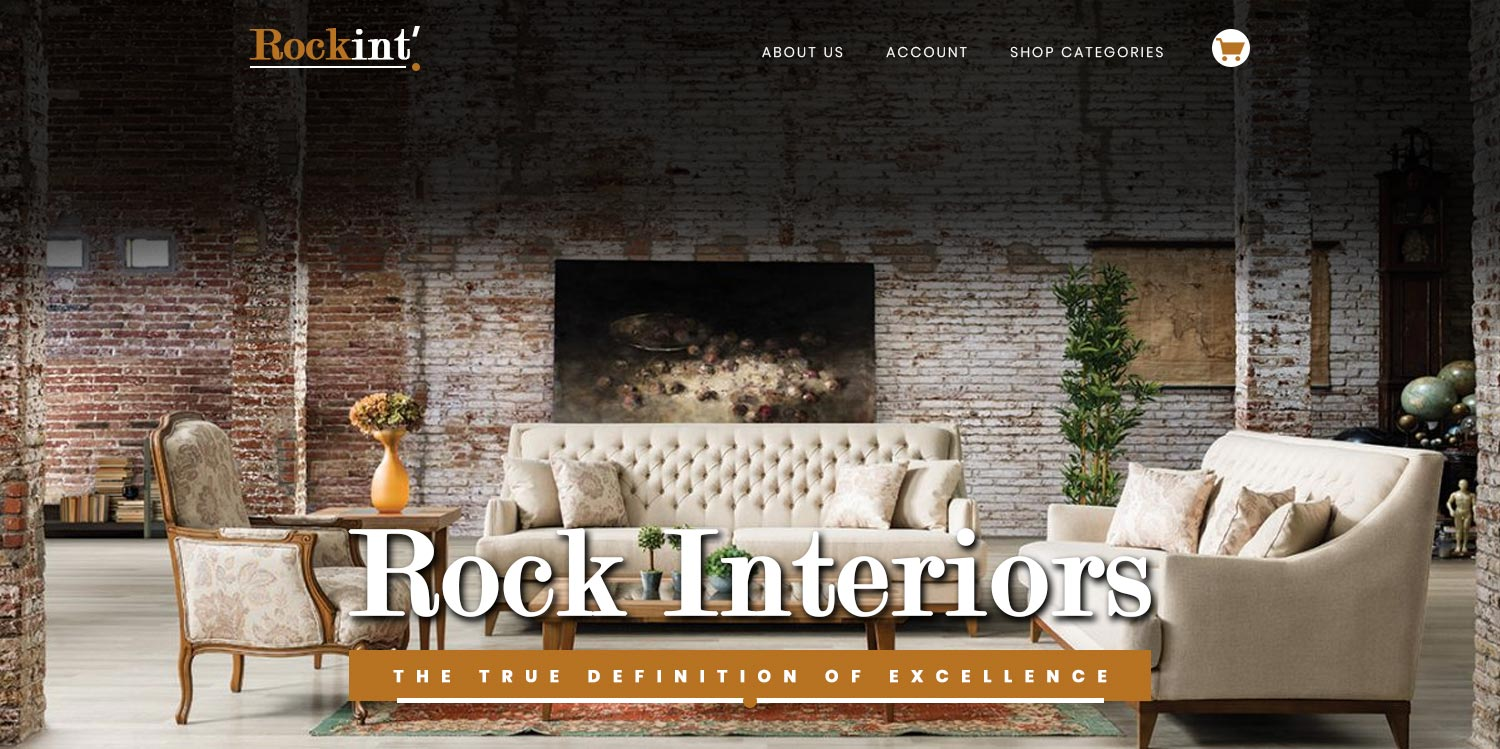 rock interior ecommerce website design banner3