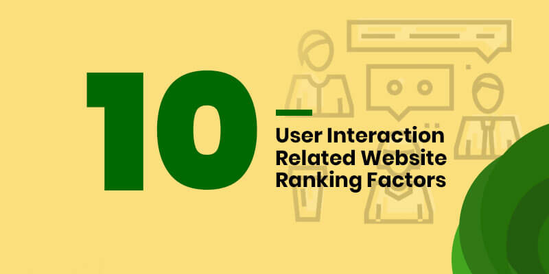 10 User Interaction Related Website Ranking Factors web design company in lagos