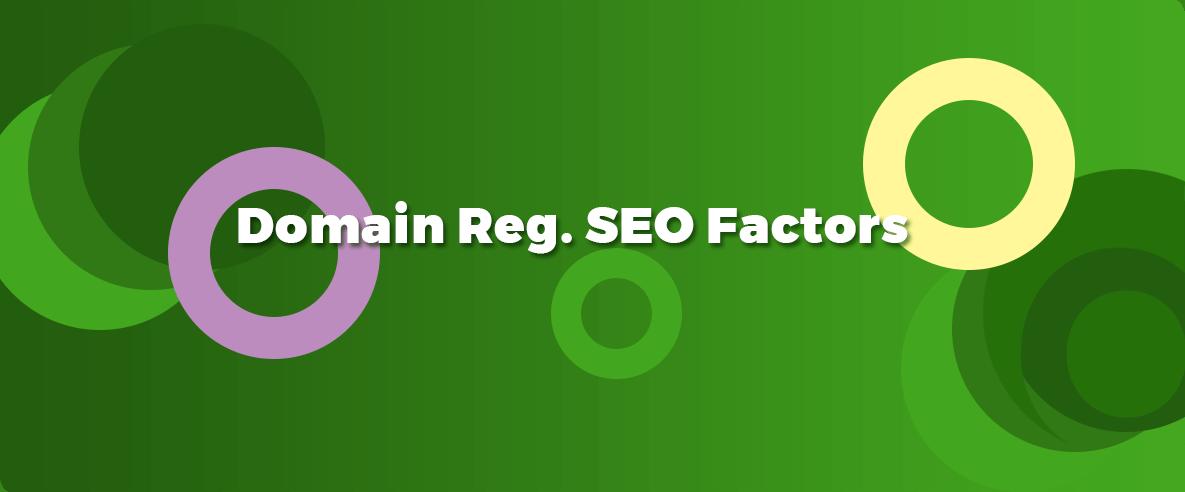 domain regidtration seo factors