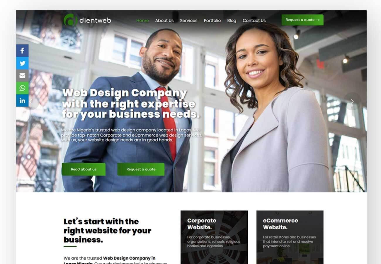 web design company in lekki lagos nigeria