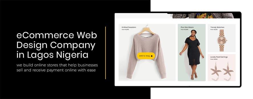ecommerce web design company in lagos nigeria