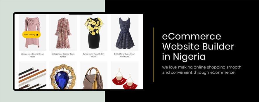 ecommerce website builder in nigeria