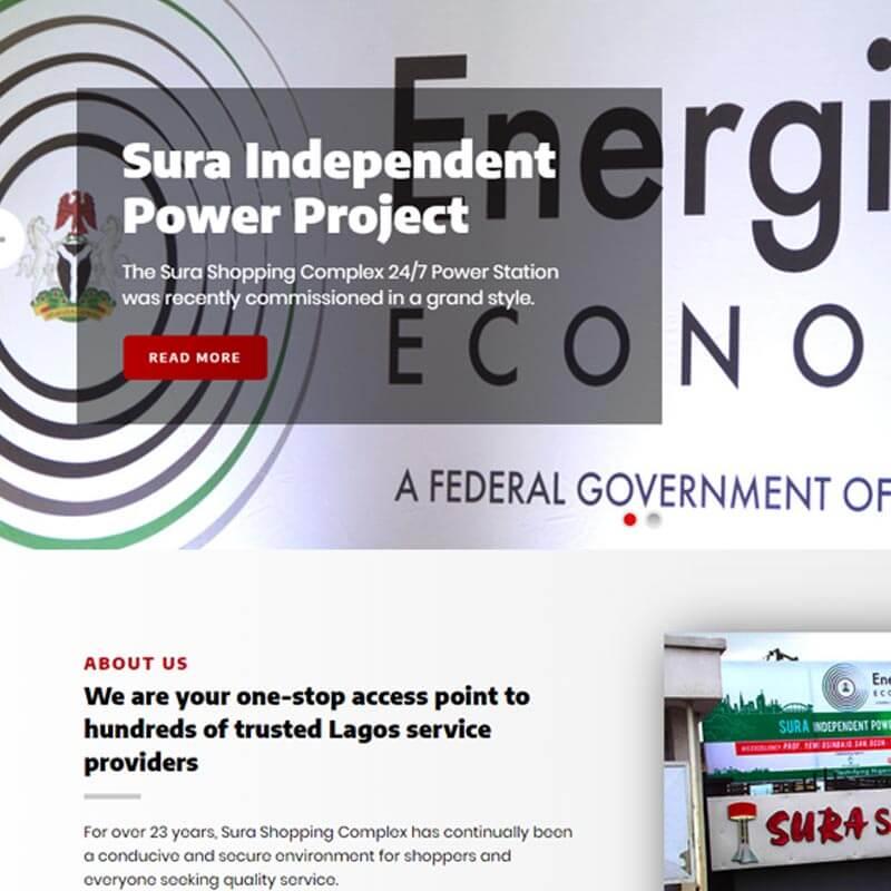 corporate website features