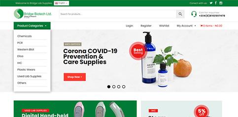 Bridge Labs eCommerce Website Design